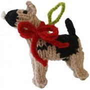 Chilly Dog German Shepard Dog Ornament