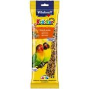 Baton papagali mici miere-susan, 2buc, 180gr, Vitakraft