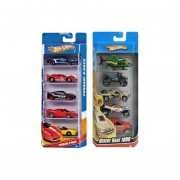 Super Paquete De 5 Carros Hot Wheels Mattel
