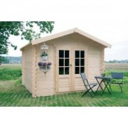 Abri de jardin en bois GERA 6.15 m2 - Ep. 19 mm