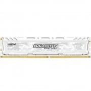 Memória RAM Crucial Ballistix Sport LT White 8GB (1x8GB) DDR4-3000MHz CL15 Branca