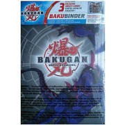 Bakugan Battle Brawlers: BakuBinder - Darkus Cover Card Holder and Exclusive cards