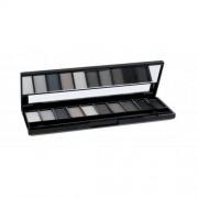 Gabriella Salvete Palette 10 Shades 12 g paletka očných tieňov pre ženy 03 Grey