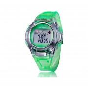 Cocodeal LED Niños Deportes Digital Reloj De Pulsera-Verde