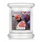 Kringle Candle Oak & Fig Świeca zapachowa 0,24 kg