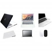 Case Carcasa + Protector De Teclado / Puertos / Pantalla / Trackpad / Magic Mouse Cover Para Macbook Air 13'' Model (A1369/A1466) -Negro Degradado