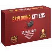 Joc de societate Exploding Kittens, maxim 9 jucatori, 7 ani+