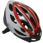 Каска за велосипед Force, L, MASTER, MAS-B202-L-red-w