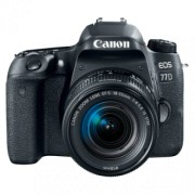 CANON EOS 77D + 18-55mm IS STM (Crna)