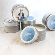 smartphoto Teelicht mit Sticker (24er Set)