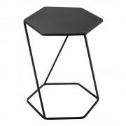 Maisons du Monde Tavolino da divano nero in metallo L 45 cm CURTIS