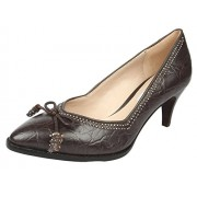 Clarks Women's Ancient Bombay Taupe Pumps - 6 UK
