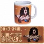 123 Kado koffiemokken Koffie beker Cockerspaniel hond