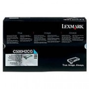 Lexmark C500H2CG Original Toner Cartridge Cyan