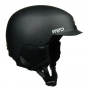 Red kask Mutiny Black M