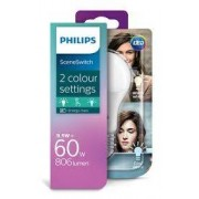 Philips LED SceneSwitch E27 9,5 W přepínatelná teplá/neutrální bílá