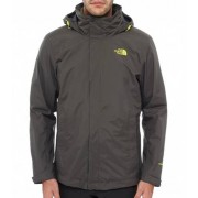 The North Face Men Evolve ll Triclimate Jacket Blk Ink Green Skaljacka Herr