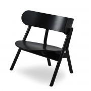 Northern - Oaki Lounge Chair, Eiche schwarz
