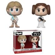 Vynl. Figura Funko Vynl. Leila & Luke Skywalker - Star Wars