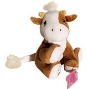 Tan and White Cow - Precious Moments Tender Tails Bean Bag Plush