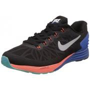 Nike Men's Lunarglide 6 Black Running Shoes - 9 UK/India (44 EU)(10 US)(654433-002)
