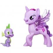 """Hasbro Singende Spielfiguren von My little pony """"Twilight Sparkle und Spike"""""""