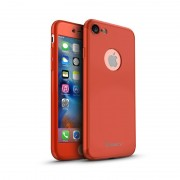 Husa Ipaky Iphone 8 Full Cover 360 - Rosu