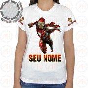 Camiseta Homem de Ferro Attack