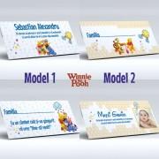 Plic pentru bani cu Winnie the Pooh (2 modele)