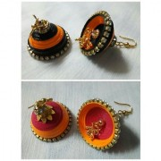 Combo Of Paper Quilling Traditional Jhumka