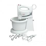 Turbo mixer Bosch, alb, cu vas special rotativ, 350 W MFQ3555 GARANTIE 2 ANI