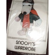 "Peanuts Flying Ace Pilot Outfit for Snoopy 18"" Plush - Snoopy's Wardrobe"