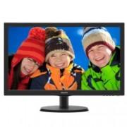"""Монитор Philips 223V5LHSB2, 21.5""""(54.61 cm), TN панел, Full HD, 5 ms, 10 000 000:1, 200cd/m2, HDMI"""