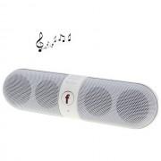 Maxy $$ Altoparlante B6 Mini F-808 Cassa Radio Speaker Vivavoce$$bluetooth 2.1 Universale White Per Modelli A Marchio Brondi