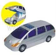 EBox 80 CD Holder Car Design, Retail Box, No