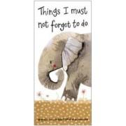 magnetisch notitieblok - memopad - alex clark - olifant