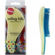 Rolling Hills Professional Detangling Brush Light Yellow