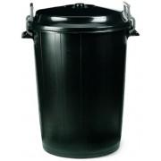 Cubo con tapa de 100 litros Qalita