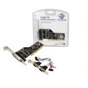 LogiLink PCI parallel / serial card scheda di interfaccia e adattatore