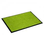 Otto-Golze & Söhne GmbH Golze PROPER TEX UNI Türmatte, 90 x 150 cm, Fußmatte aus Polyamid für den Innenbereich, Farbe: grün