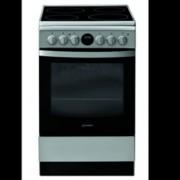 Готварска печка Indesit IS5V5CCX/E, клас А, 59 л. общ обем, 4 котлона, 5 фукнции на фурната, механичен таймер, инокс