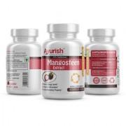 Ayurish Mangosteen 20% - XANTHON Extract 500 mg 60 Capsule Boost Energy Levels