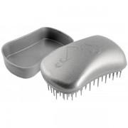 Dessata Mini Anti-Tangle Taschen- Bürste silver