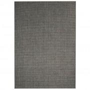 vidaXL sötétszürke, szizál hatású beltéri/kültéri szőnyeg 80 x 150 cm