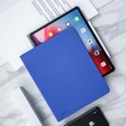 Apple Benks horizontale Flip leren Case voor iPad Pro 12 9 inch (2018) met houder & slaap / Wake-up functie (blauw)