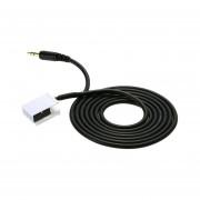 YKT-AB056 Coche Macho Cable Aux Teléfono Cable De Entrada De Audio Para VW Para Audi Para Skoda -en Blanco Y Negro