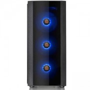 Кутия Thermaltake Versa J25 TG RGB Mid Tower, THER-CASE-CA-1L8-00M1WN-01