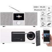 VR-Radio Stereo-Internetradio mit DAB+, FM, Bluetooth & Wecker, 32 Watt, weiss