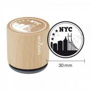 RoyalPosthumus Woodies Stempel - NYC skyline