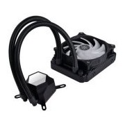 SilverStone PermaFrost Premium Water Cooler, Single Adjustable 120mm PWM, ARGB, Intel/AMD (SST-PF120-ARGB)